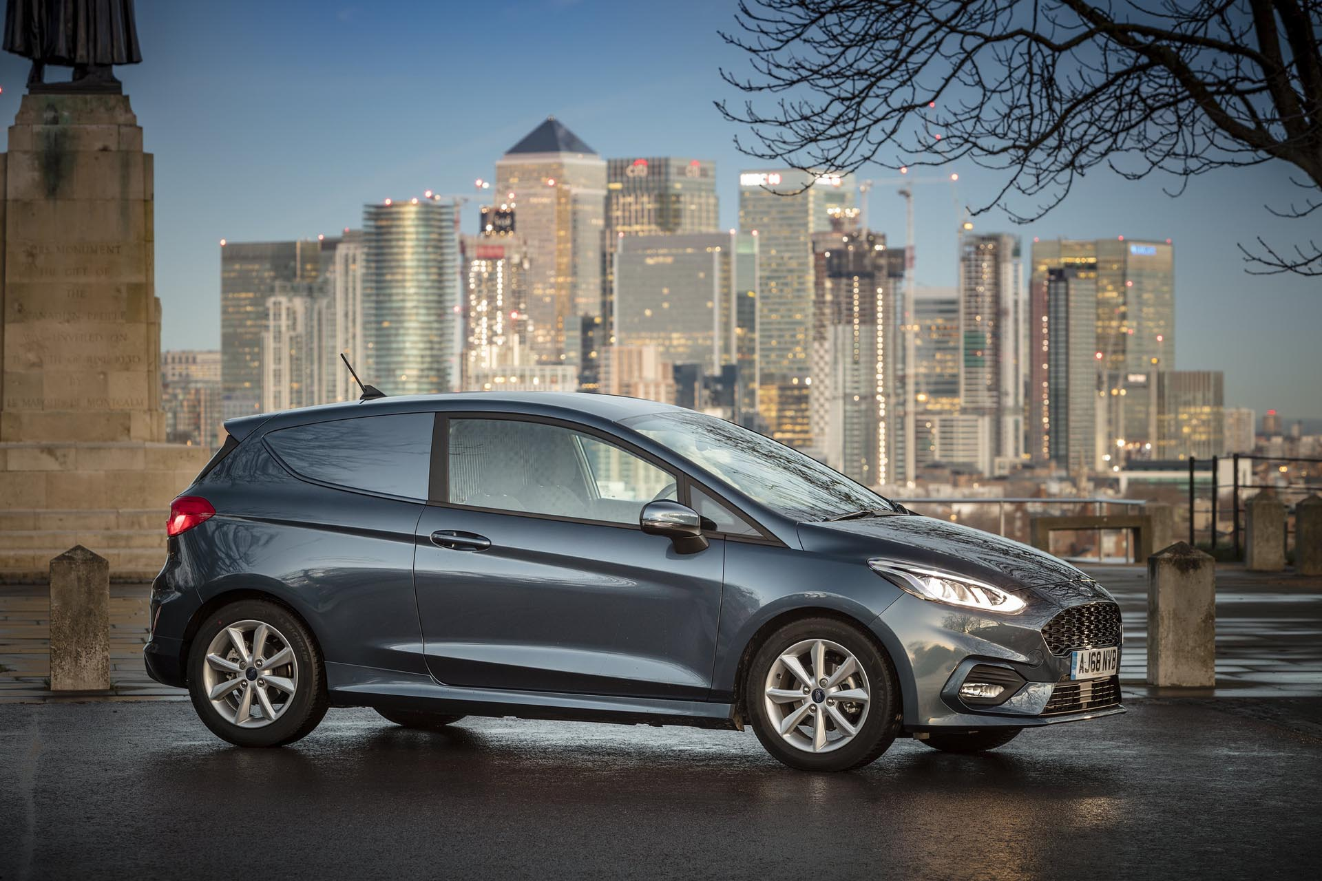 Ford Introduces Fuel Efficient Mild Hybrid Technology to Fiesta Van