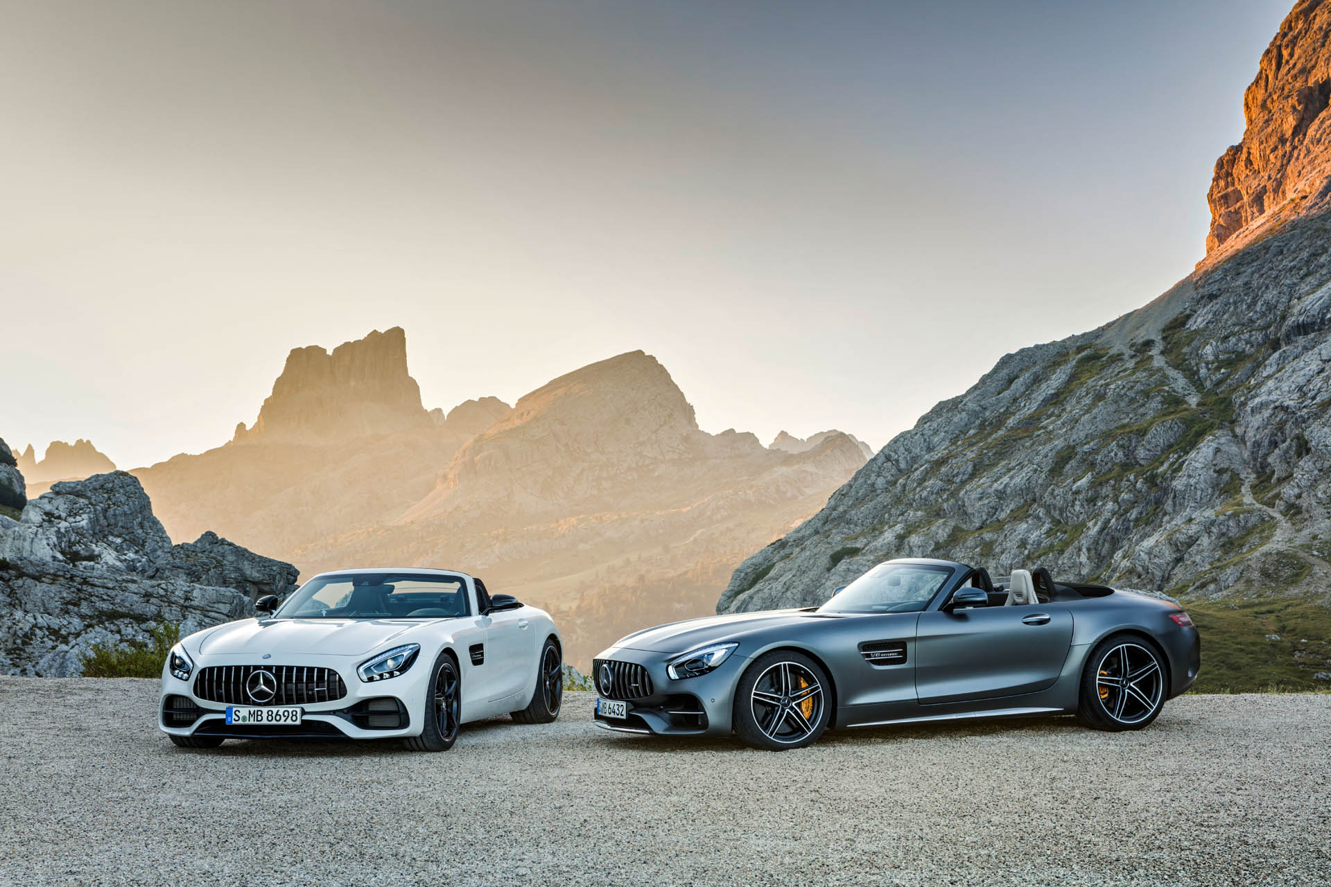 Mercedes GT C Roadster