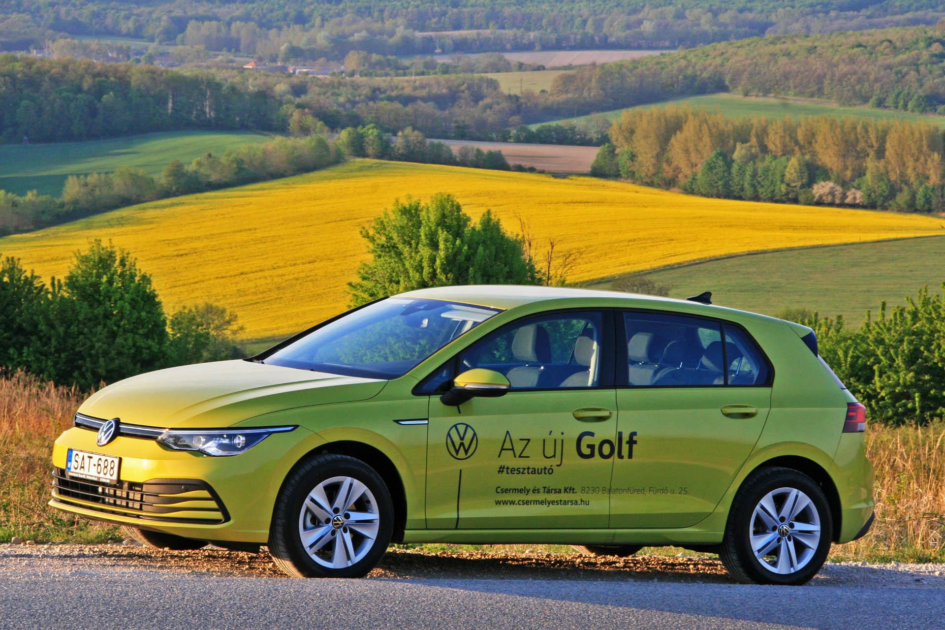 VW Golf 2020-ban