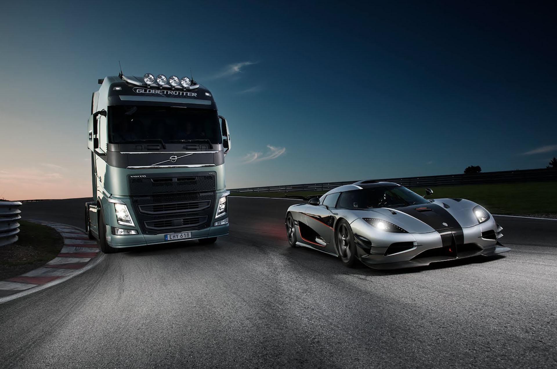 Daimler, TRATON és a Volvo
